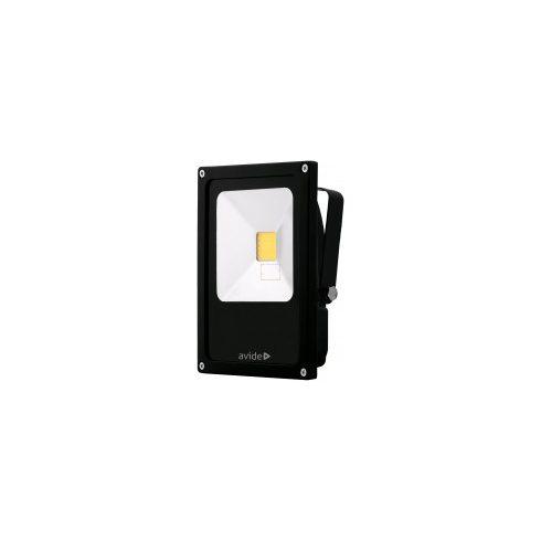 Led Reflektor 20W IP65 fekete 1800Lm slim Avide