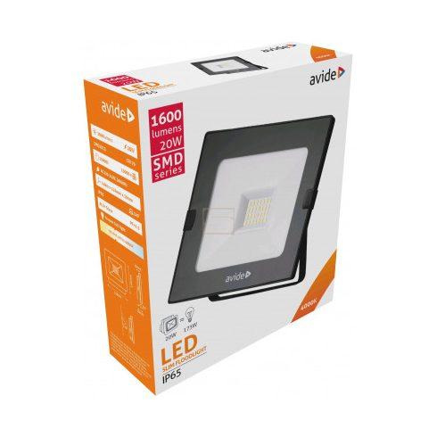 Led Reflektor 20W IP65 4000K 1600lm Slim Avide
