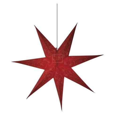 Karácsonyi Dekor csillag 75cm piros EMOS(((AKCIÓS!!!)))