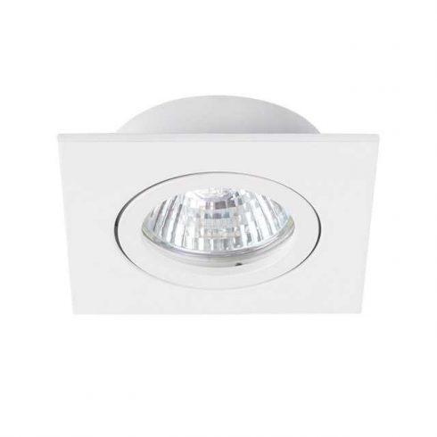 Spot lámpatest szögletes fehér IP20
